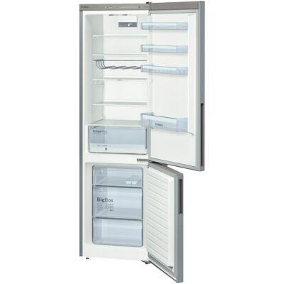 BOSCH KGV39VL31S kombinált hűtő-fagyasztó,201 cm,inoxlook,A++