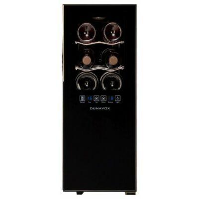 Dunavox DAT-12.33 DC termoelektromos borhűtő,12 palackos