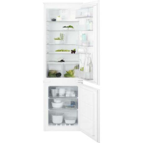 Electrolux ENT6TF18S Beépíthető kombinált hűtőszekrény, NoFrost, 178 cm