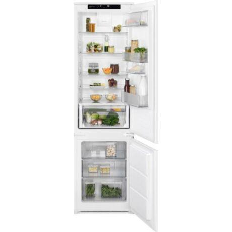 Electrolux LNS8FF19S Beépíthető kombinált hűtőszekrény, 188 cm