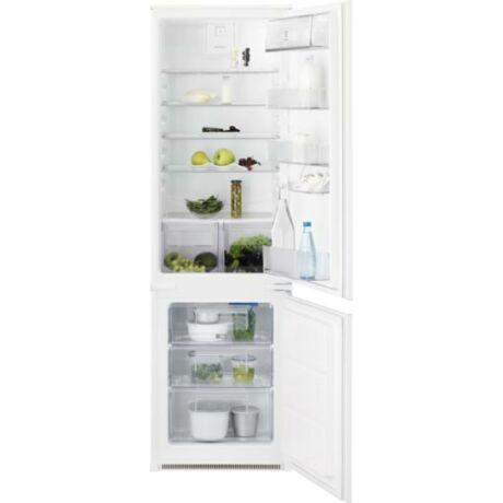 Electrolux LNT3FF18S Beépíthető kombinált hűtőszekrény, 178 cm