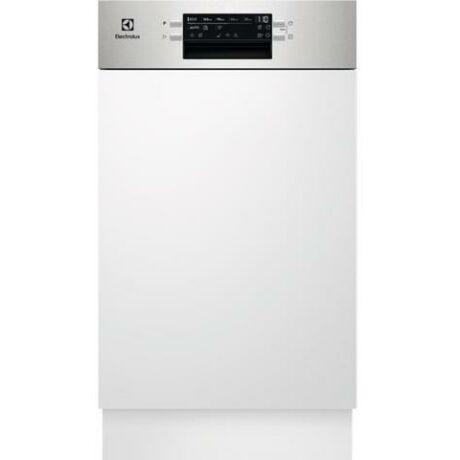 Electrolux EEM43300IX beépíthető mosogatógép, 45 cm, D energiaosztály, 10 teríték