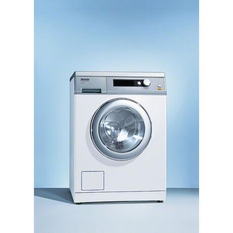 Miele PW 6055 Vario fehér, leeresztő szelepes ipari mosógép 5,5 kg töltetsúllyal