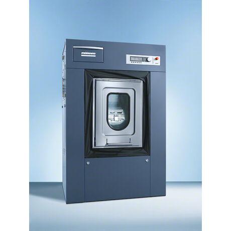 Miele PW 6163 PW 6163 elektromos, kék ipari mosógép, szennyes/tiszta oldal, talpazattal