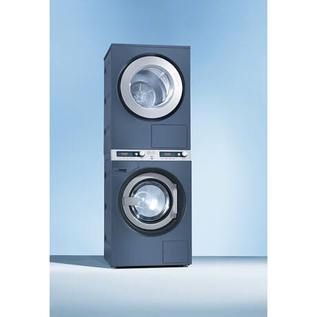 Miele PWT 6089 Vario kék lúgszivattyús mosó-szárító torony, 8kg-os
