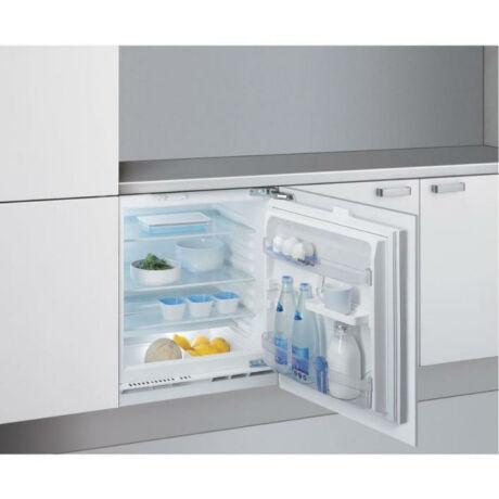 Whirlpool ARZ 0051 pult alá építhető hűtőszekrény, 144 l, F energiaosztály